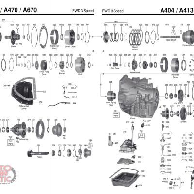 АКПП - 31TH - A404 (A413)