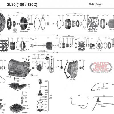 АКПП - 3L30, TH180