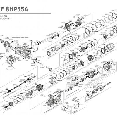 АКПП - 8HP55