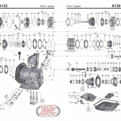 АКПП - A132L/131L