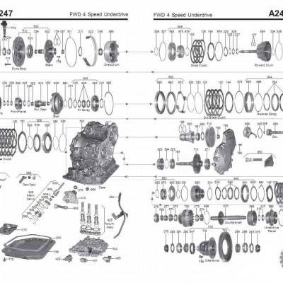 АКПП - A240L \E \H