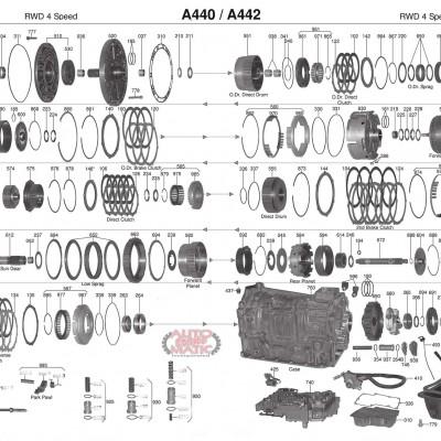 АКПП - A440F