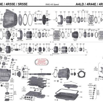 АКПП - 4R44E 4R55E