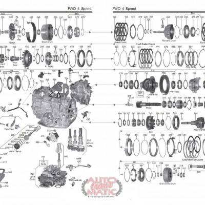 АКПП - A541E