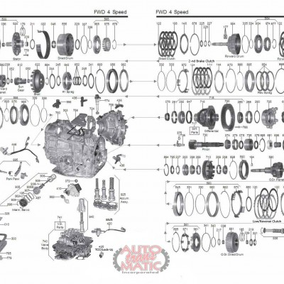 АКПП - A540E\H\541E
