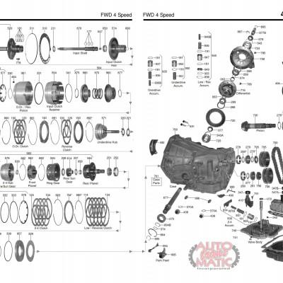 АКПП - A606 (42LE)