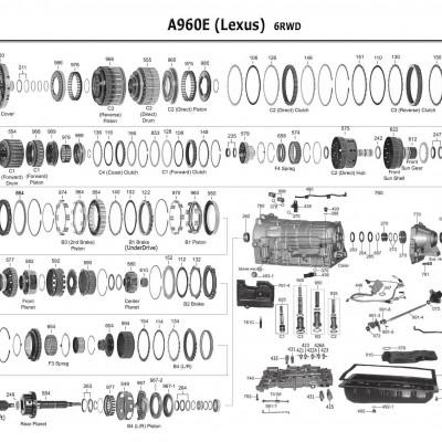АКПП - A960E
