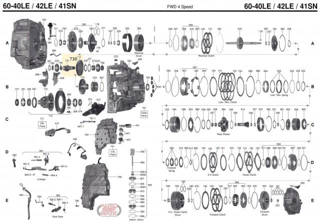 АКПП - AW60-40LE (AF13)