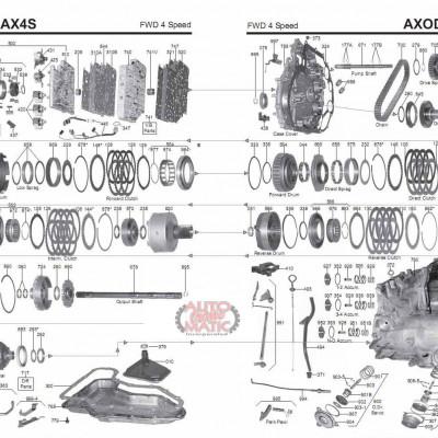 АКПП - AX4S