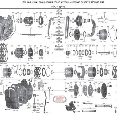 АКПП - CD4E