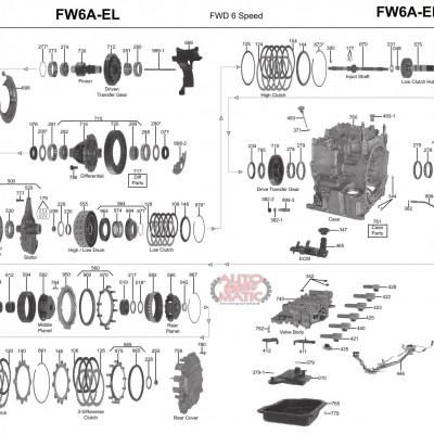 АКПП - FW6A-EL