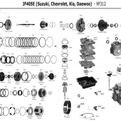 АКПП - JF405E