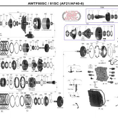 АКПП - TF-80SC - 81SC