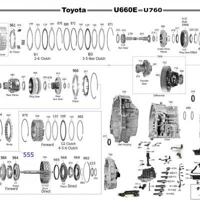 АКПП - U760E