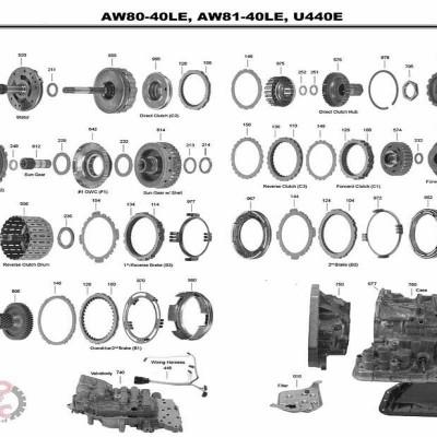 АКПП - AW81-40LS