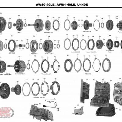 АКПП - AW80-40LS