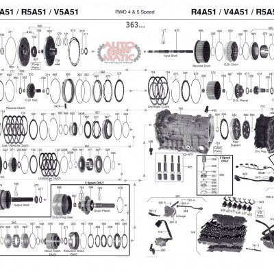 АКПП - R4A51 V4A51