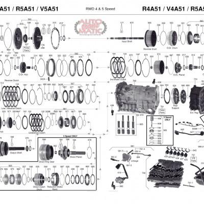 АКПП - V4A51