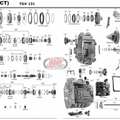 АКПП - DQ250 (02E)