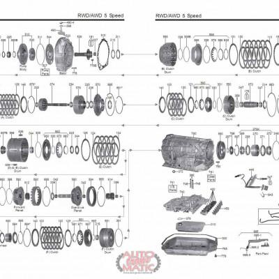 АКПП - 01L (5HP24)