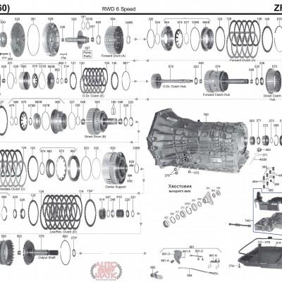 АКПП - 6HP26 (09Е)