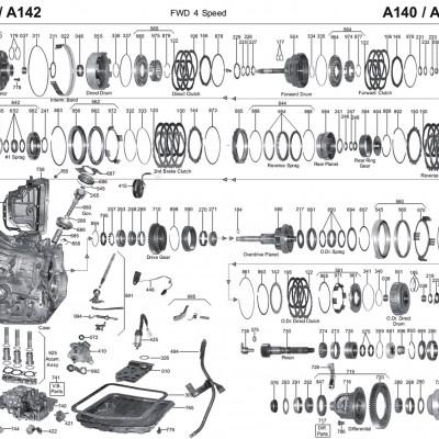 АКПП - A140E/L