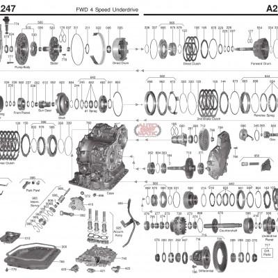 АКПП - A241L