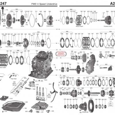 АКПП - A240