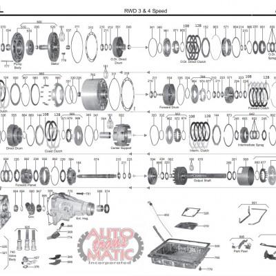 АКПП - AW70 -71 -72