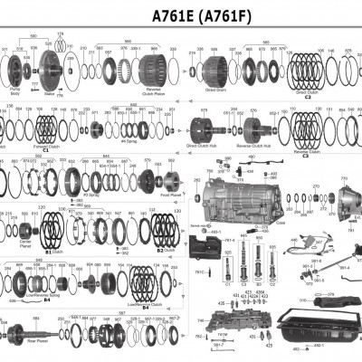 АКПП - A761E /F