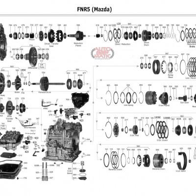 АКПП - FNR5 (FS5A-EL)