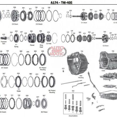 АКПП - A172